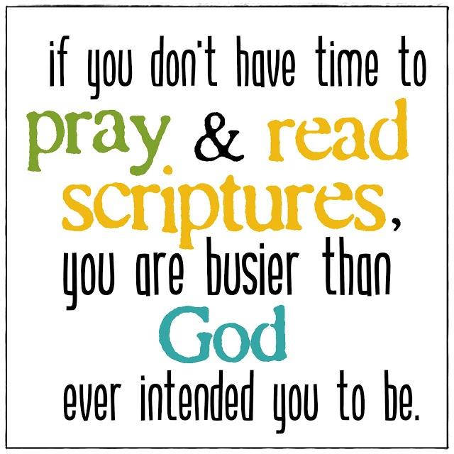 Confess–Prayer–Read