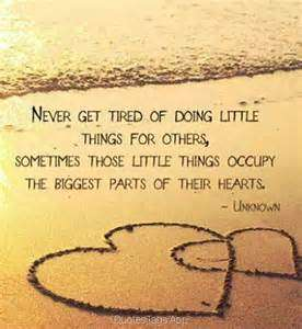Little Things DoMatter
